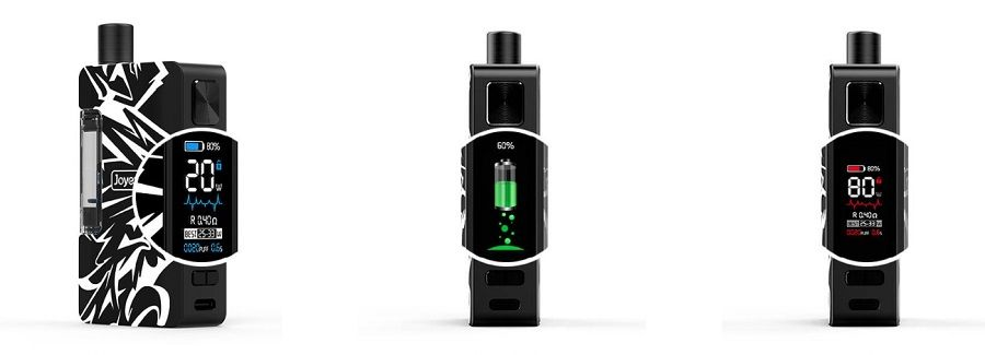 joyetech exceed grip plus smart displej