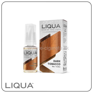 LIQUA Elements 30ml - 0mg/ml Dark Tobacco