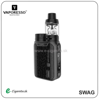 Vaporesso SWAG TC80W FULL Kit čierny
