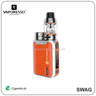 Vaporesso SWAG TC80W FULL Kit oranžový