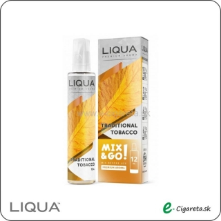 Aróma LIQUA Mix&Go Traditional Tobacco 12ml