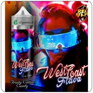 West Coast Flava Shortfill 50ml - Fruity Cotton Candy