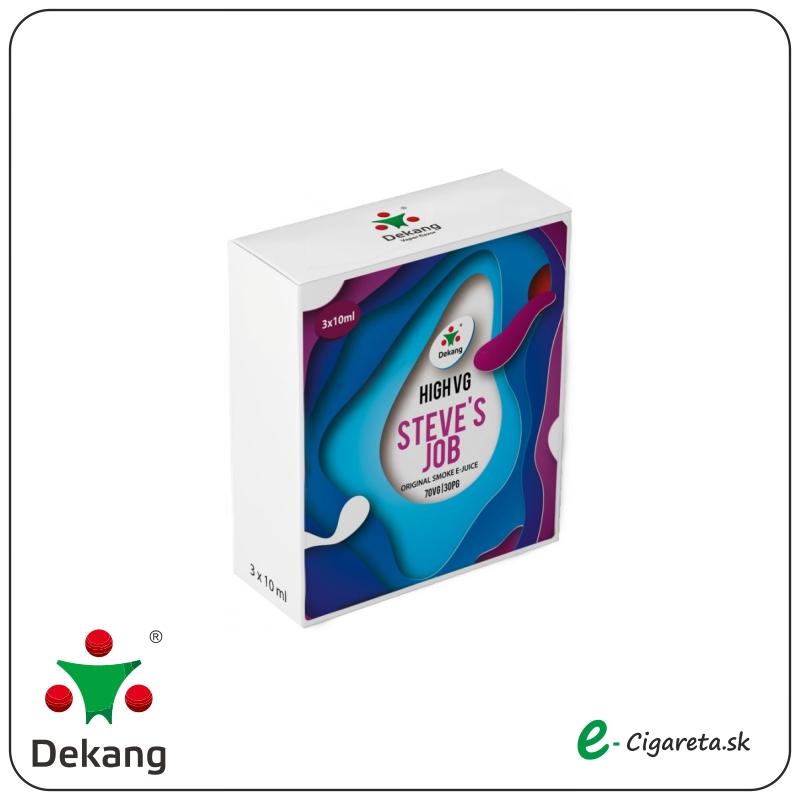 Dekang High VG 3x 10ml - 0mg/ml Steve´s Job (SLADKé A KYSLé JABLKO)