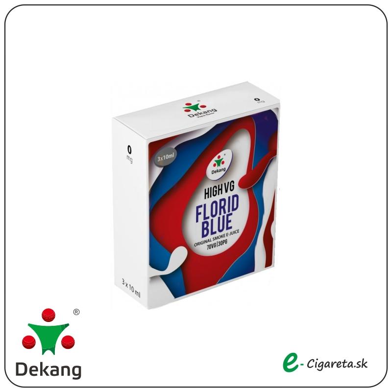 Dekang High VG 3x 10ml - 6mg/ml Florid Blue (LADOVé čUčORIEDKY)