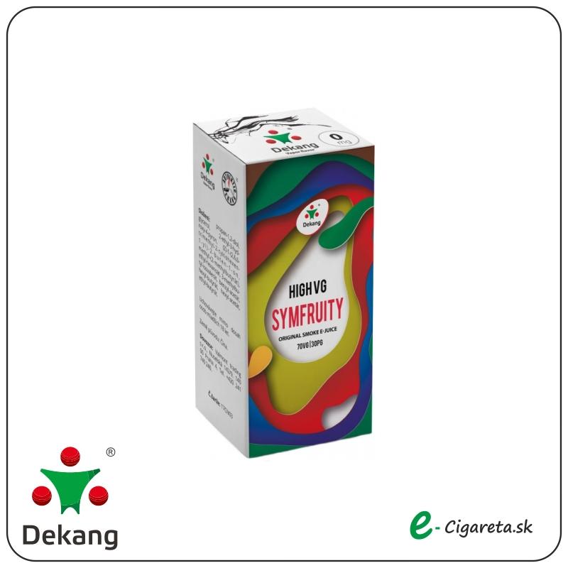 Dekang High VG 10ml - 0mg/ml Symfruity (OVOCNý MIX)